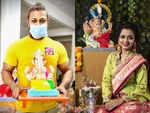 Marathi TV celebs welcome Ganpati Bappa home; see pics