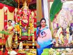 Happy Ganesh Chaturthi: Tamil celebs Mounika Devi, Kala master and others celebrate the festival with full enthusiasm; see pics