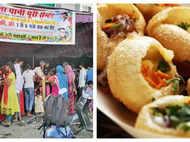 Street food vendor of Bhopal serves free Pani Puri worth Rs 50000 on daughter's birth