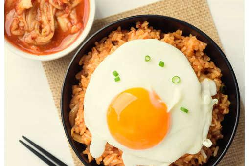 Kimchi Rice Salad