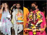 Ganpati visarjan 2021: Rahul Vaidya-Disha Parmar to Shweta Tiwari; celebs bid adieu to 'Bappa' with love and dedication