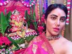 Arshi Khan trolled for celebrating Ganesh Chaturthi