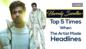 Top 5 times when Harrdy Sandhu made headlines