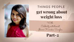 Things people get wrong about weight loss