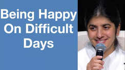 Being happy on difficult days