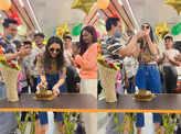 Candid pictures of Rakul Preet Singh's birthday celebration go viral
