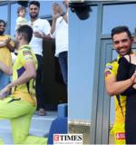 Deepak Chahar proposes girlfriend Jaya Bhardwaj in the stands