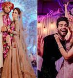Abhishek Malik and Suhani Chaudhary's wedding ceremony