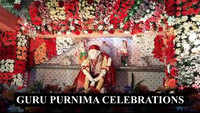 Watch: Sai Baba temple in Visakhapatnam decorated with 25 varieties of flowers on Guru Purnima