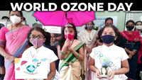 Visakhapatnam: Schoolchildren take part in World Ozone Day campaign