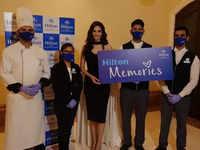 Manika Sheokand's perfect visit at Hilton Mumbai International Airport