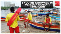 Versova Ganpati immersion: 3 boys feared drowned, 2 rescued in Mumbai