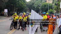 Cyclothon event in Mumbai: Merging cycling with fun