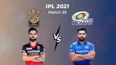 IPL Score 2021, RCB vs MI Highlights: Bangalore crush Mumbai by 54 runs