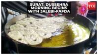 Dussehra 2021: Long queues for Jalebi, Fafda seen in Gujarat