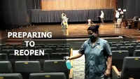 Mumbai: Cleaning and sanitization process underway at theatres ahead of reopening