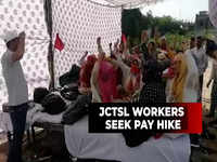 Jaipur: JCTSL employees continue strike for second day, commuters set to have a tough time