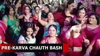 Watch: Women participate in pre-Karva Chauth celebrations in Chandigarh