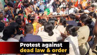 Mamita Meher murder: BJP Women Wing protesters mocked at 'dead' law and order in Odisha