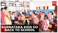 Back to school: Physical classes begin for Class I to V students in Karnataka
