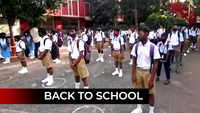Odisha: Schools reopen for Class 8 students after 20 months
