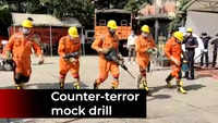 Haryana: NDRF conducts mock drill on Police Flag Day in Panchkula