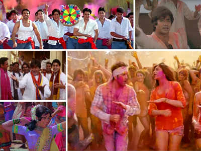 Holi 2019: Some unforgettable Holi-Bollywood songs to definitely play in your Holi celebrations this year!