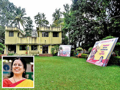 City MLA turns civic body-owned garden into political office