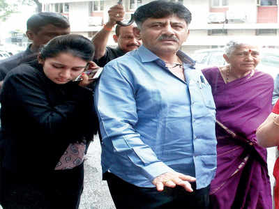 DK Shivakumar daughter summoned, to appear on Thursday