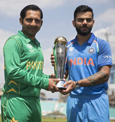 India vs Pakistan Live Score, ICC Champions Trophy 2017 Final, Live Cricket Score and Updates: Pakistan beats India by 180 runs