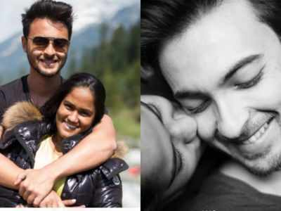 Aayush Sharma shares heartwarming post for Arpita on sixth wedding anniversary