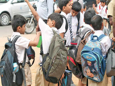 Students' bags will get lighter from June. Yay!