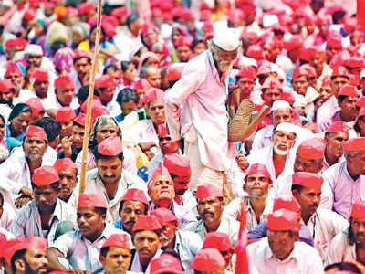 Do you believe the ongoing massive farmers' protests for loan waivers are getting enough attention?