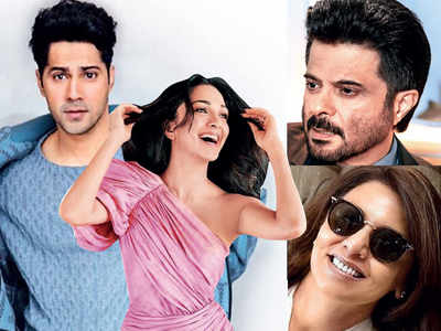 Anil Kapoor and Neetu Kapoor to play parents to Varun Dhawan for upcoming romantic-dramedy