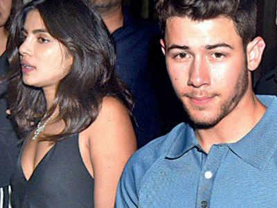 Nick Jonas surprises Priyanka Chopra in Mumbai