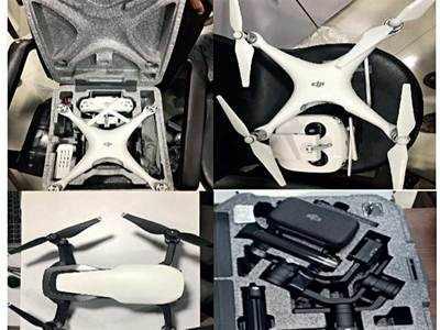 Paldi bizman held by DRI for drone smuggling