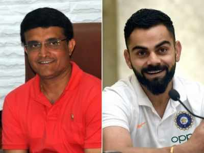 Sourav Ganguly hails record breaking Virat Kohli