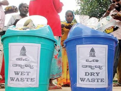 BBMP torn over dry, wet waste problem