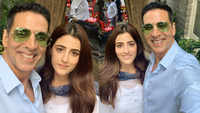 Akshay Kumar shoots with Kriti Sanon's sister Nupur Sanon for music video