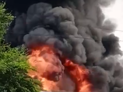 Watch: Massive fire breaks out at a paint factory in Rajkot, residents in nearby areas evacuated