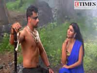 On the sets of Vish with Debina Bonnerjee