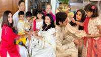 Aishwarya Rai Bachchan shares adorable pictures of Raksha Bandhan celebrations with family