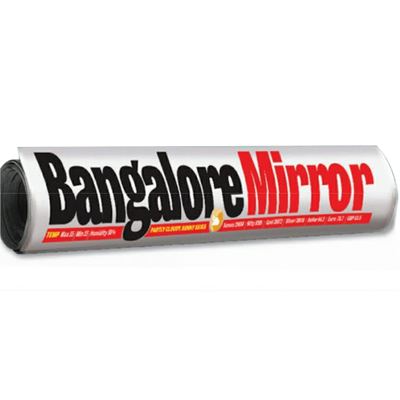 Bangalore Mirror registers strong  growth in IRS Q3