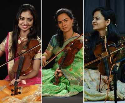 Meet Dr Sangeeta Shankar and her daughters Ragini and Nandini Shankar, who weave magic with their violins