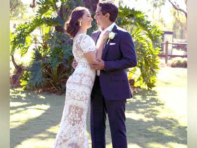 Evelyn has hush-hush wedding
