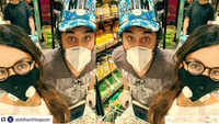 Shraddha Kapoor goes groceries shopping with her brother Siddhant Kapoor, shares selfie clad in mask and gloves