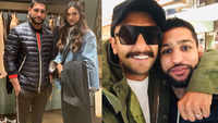 Boxer Amir Khan meets power couple Ranveer Singh and Deepika Padukone, shares pictures