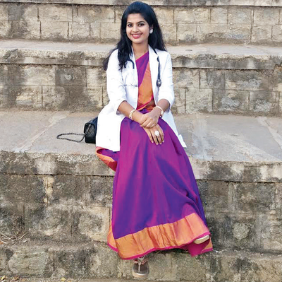 This girl from Bengaluru proves that you don't need to be nerd to crack MBBS exam