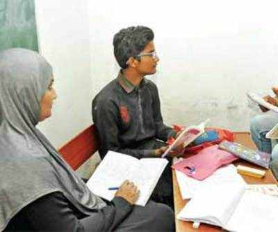 Mother, son appear for SSC exam