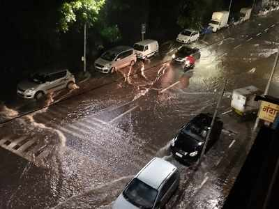 Heavy rains lash Pune: Landslide near Katraj tunnel, one NDRF team dispatched for rescue operations
